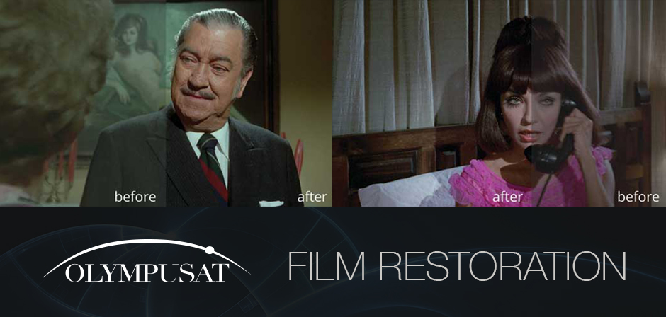 OLYMPUSAT RESTORES MEXICAN CINEMA CLASSICS